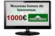 bonus everest poker 1000€