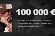 Tournoi Altitude 100 Everest Poker